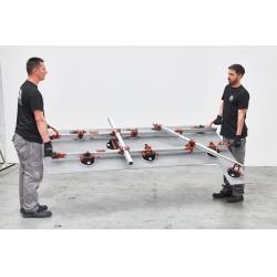 Переноска  Easy Move  с 8-ю вакуумными присосками (с манометром)