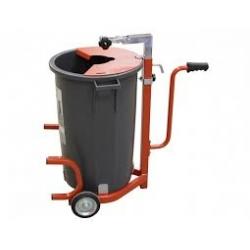 Резервуар для наливных полов с 2-мя колесами