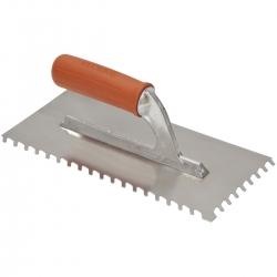 Шпатель с косым зубом 6,8,10 мм.